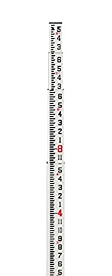 AdirPro foot Fiberglass Rectangular Leveling Rod - 8ths