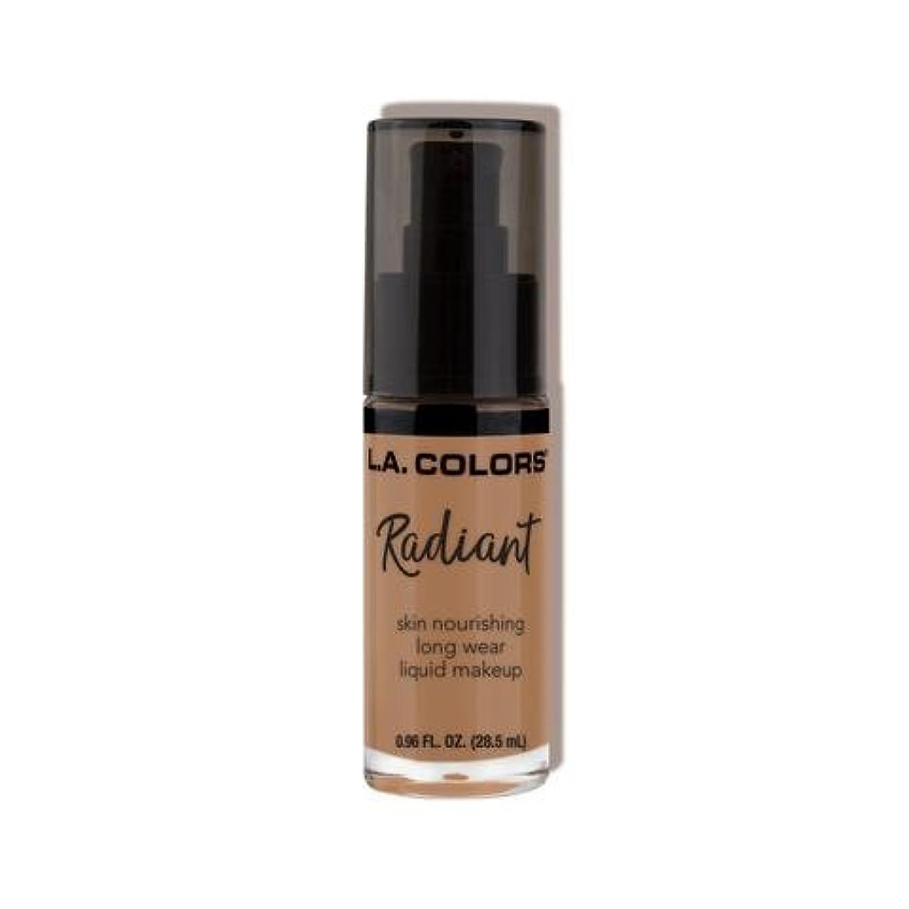 波紋フライカイトドライ(6 Pack) L.A. COLORS Radiant Liquid Makeup - Creamy Cafe (並行輸入品)