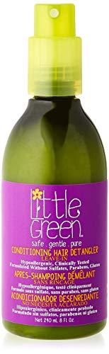 Little Green Kids | Acondicionador desenredante 240 ml para niños sin sulfatos, parabenos ni gluten | producto vegano sin aromas añadidos