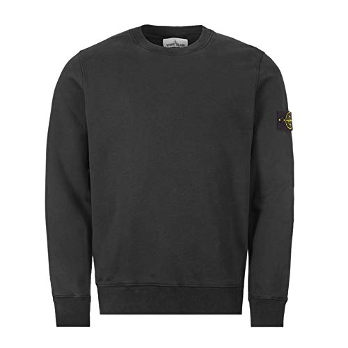 Stone Island Baumwoll-Sweatshirt, Schwarz Gr. S, Schwarz
