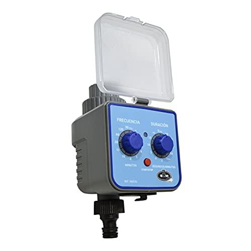 S&M 580536 – Programador de nebulización H-M 3/4' para terrazas, porches-Rebaja hasta 14 °C