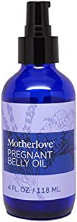 Motherlove Pregnant Belly Oil (4oz) Help Prevent Stretch Marks During Pregnancy & Soothe The Itch of Growing Skin—Moisturi...