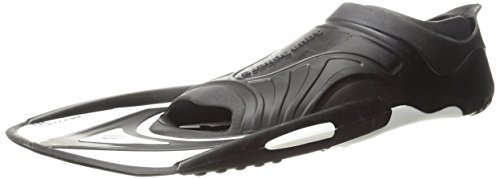 Aqua Sphere Microfin Fitness Pinne, Black/White