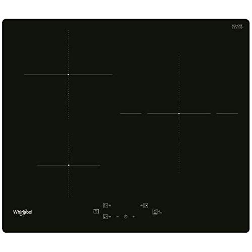 WHIRLPOOL Induction 60 cm 3 foyers 7200w Noir