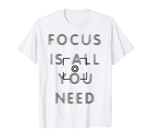 Fotografía Cámara Foco Fotografía Lente Fotografía Fotógrafo Camiseta