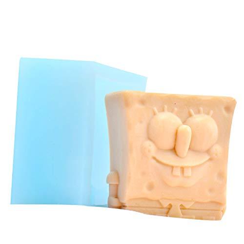 Seifenform Spongebob Schokolade Süßigkeiten Form handgefertigt Pudding Gelee Herstellung Werkzeug