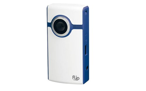 Flip Ultra Video Camera - Blue, 4 GB, 2 Hours (2nd Generation)