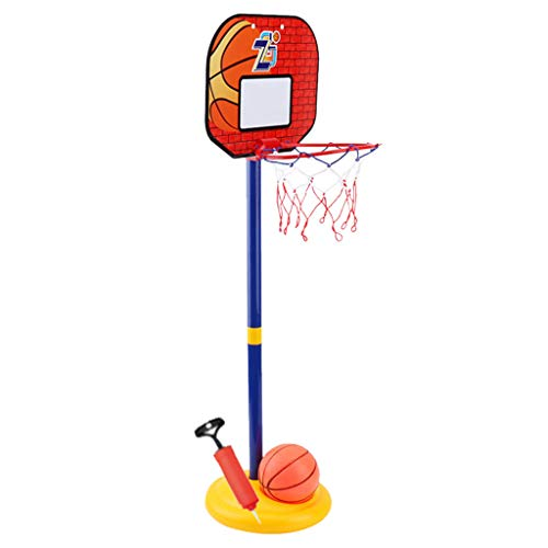 Check Out This Timegard Child's Sporting Goods Adjustable Indoor Basketball Rack Basketball Combinat...