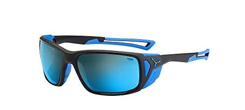 Cébé Proguide Gafas, Unisex Adulto, Multicolor (Matt Black Blue), L