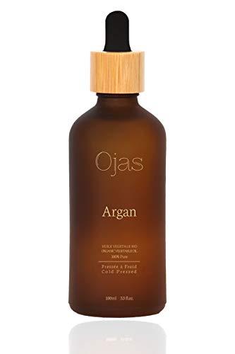 Ojas - Olio di Argan Biologico del Marocco | 100% Puro, Vergine e Naturale, Spremuto a freddo - 100 ml