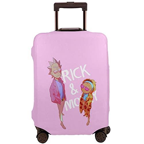 Copertura per bagagli da viaggio Protezione per le vacanze estive rosa, adatta per i bagagli da viaggio da 45 a 32 pollici, multicolore, 90