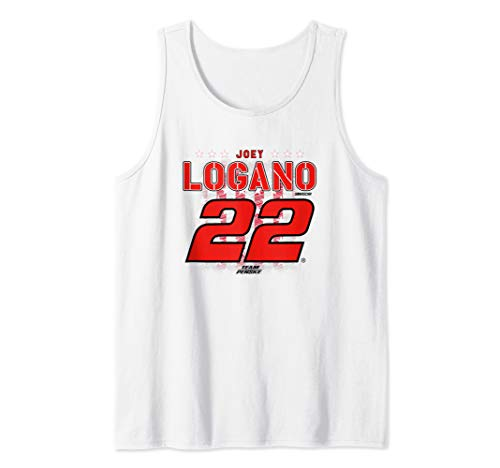 NASCAR - Joey Logano - Flag Tank Top