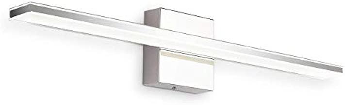 LED Vanity Lights, BRIVOLART 24 Inch 14W Cool White 6000K LED Bathroom Vanity Light Fixtures Modern Chrome Bathroom Vanity Lights for Mirror