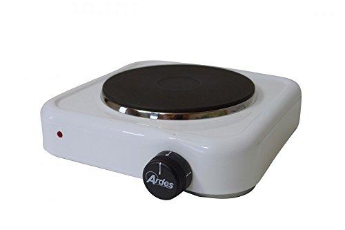 ARDES große Einzelkochplatte aus Italien - 18 cm Elektrokochplatte mit 1500 Watt Leistung