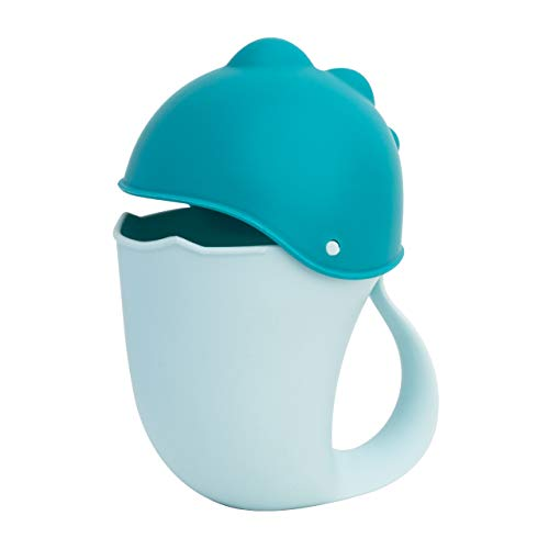 The StartUp Juguete de baño con Forma de Ballena para bebés o niños. Jarra para aclarar el Pelo y Evitar el champú en los Ojos. Plástico Resistente