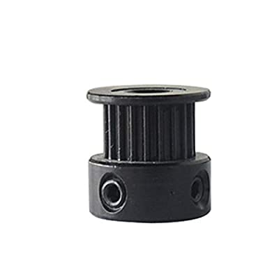 Auart Zyilei-Timing Belt Pulley 20 teeth GT2 Timing Pulley, Bore 3mm 3.17mm 4mm 5mm 6.35mm 8mm, width 6mm, Synchronous Belt Small backlash 20Teeth Durable and virtually