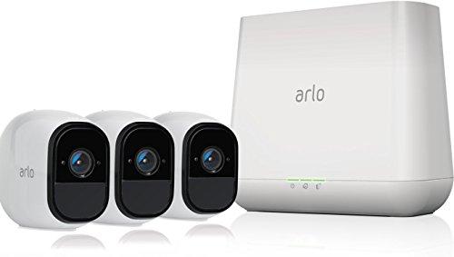 Arlo Pro - Wireless Home Security Camera System with Siren | Rechargeable, Night vision,...