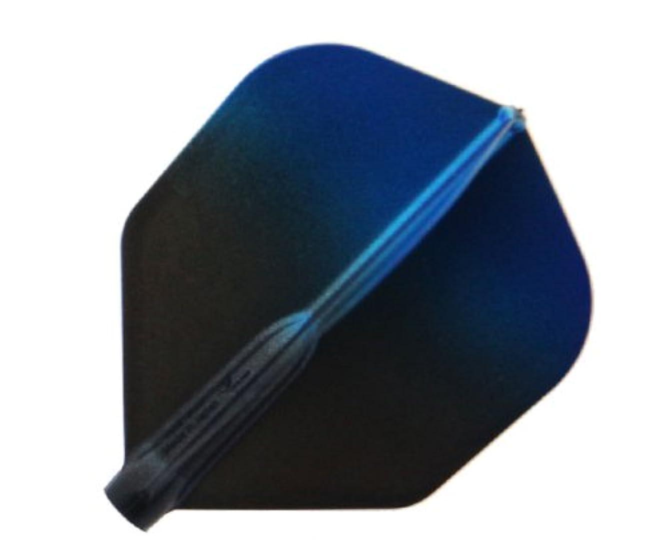 自動的に一時的スリムEsprit(エスプリ) フィットフライトエアー×エスプリ クリアブラックグラデーション シェイプ ブルー fif6312