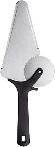 Set In stock of 1 Louisville-Jefferson County Mall Assorted Pizza Cutter 3 Cake Steel Wheel Stainless