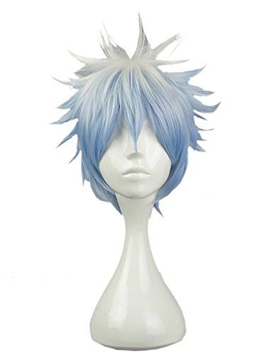 comprar pelucas mujer pelo corto azul en internet