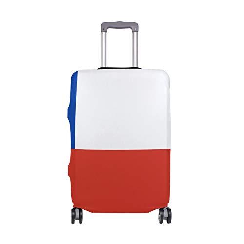 DEZIRO - Funda para Equipaje con diseño de la Bandera de Chile