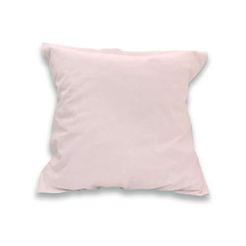 Soleil d'Ocre 553827 Taie d'Oreiller 57 Fils Coton Uni Rose 65 x 65 cm