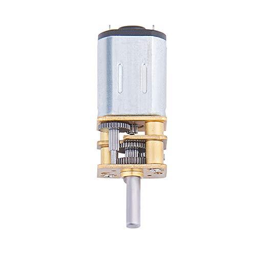 MICGEEK Getriebemotor Motor Elektromotor Gleichstrommotor Elektro Getriebe Motor Motor mit Getriebe Elektromotoren N20 DC 12v 100rpm