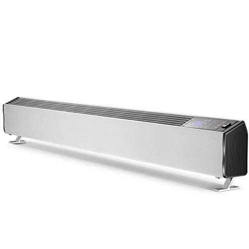 LIPENLI Calentador de zócalo de la placa base remota calentadores de control del calentador de Hogares velocidad de calentamiento eléctrico de calefacción por convección Oficina calentador eléctrico c