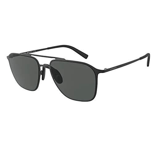 Giorgio Armani Gafas de Sol AR 6110 Matte Black/Grey 58/18/145 hombre