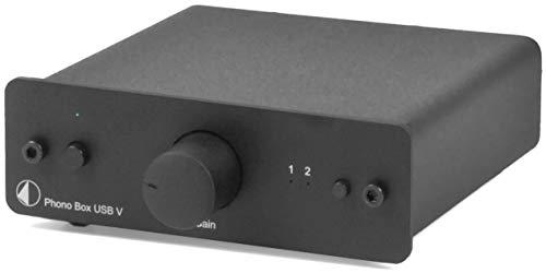 Pro-Ject Phono Box USB V Vorverstärker schwarz