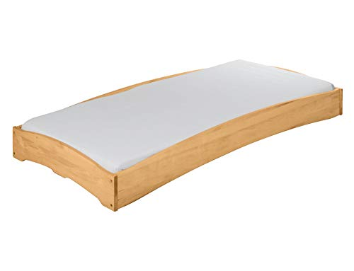 BioKinder 22193 Leandro Kinderbett Stapelbett aus Massivholz 90 x 200 cm 1 Stück