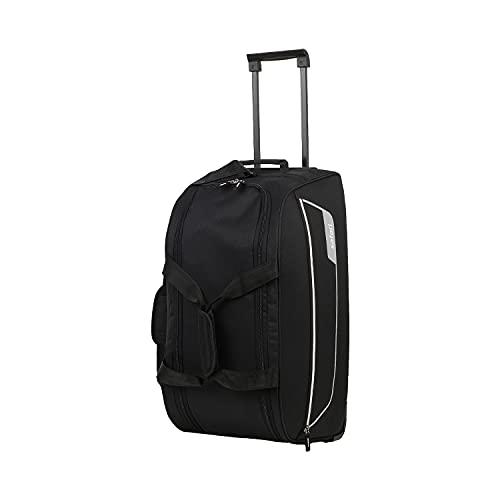 Safari ARC Polyester 55 cms Black Travel Duffle (ARC55RLBLK)
