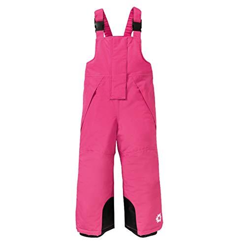 WYTbaby Pantalón de Esquí para Niños Unisex Petos de Esquí Niño Niña Invierno Pantalón Funcional Impermeable Protección contra la Nieve, 1-2 Años