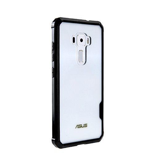 Funda® Firmeza y Flexibilidad Smartphone Funda Carcasa Case Cover Caso para ASUS Zenfone 3(ZE552KL)(Negro)