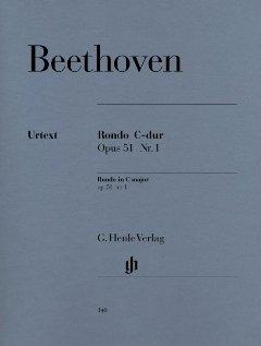 RONDO C-DUR OP 51/1 - arrangiert für Klavier [Noten / Sheetmusic] Komponist: BEETHOVEN LUDWIG VAN