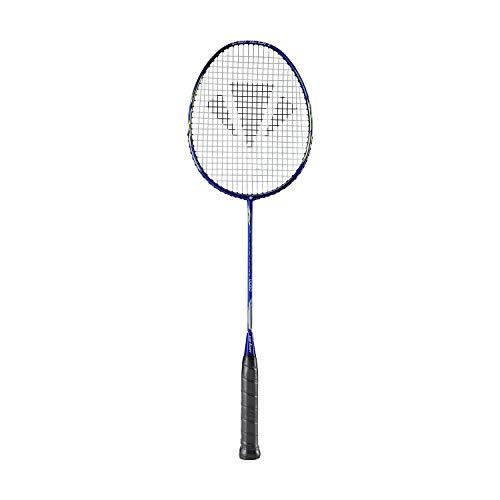 Carlton Powerblade V400 Badminton Racket, Blue/Silver