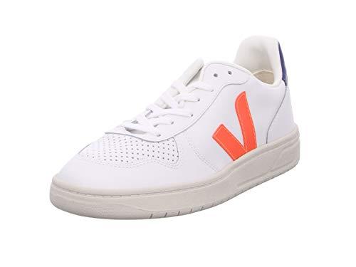 Veja Herren Sneaker V-10 Weiss/orange (903) 42EU