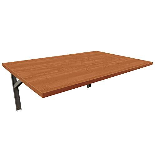 mikon 60x40 Wandtisch Wandklapptisch Küchentisch Schreibtisch Esstisch | Erle