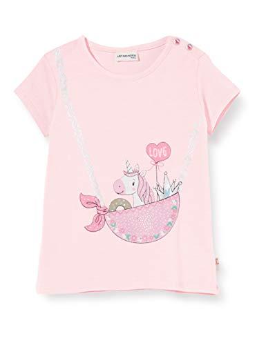 Salt & Pepper Baby-Mädchen 03212213 T-Shirt, Rosa (Pastell Rose 818), (Herstellergröße: 74)