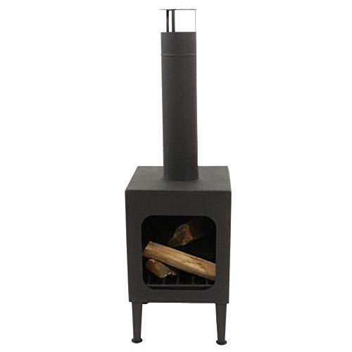 Enjoyfires Tora Garden Chiminea, Patio Stove, Garden Stoves, Fireplace, Fire Basket