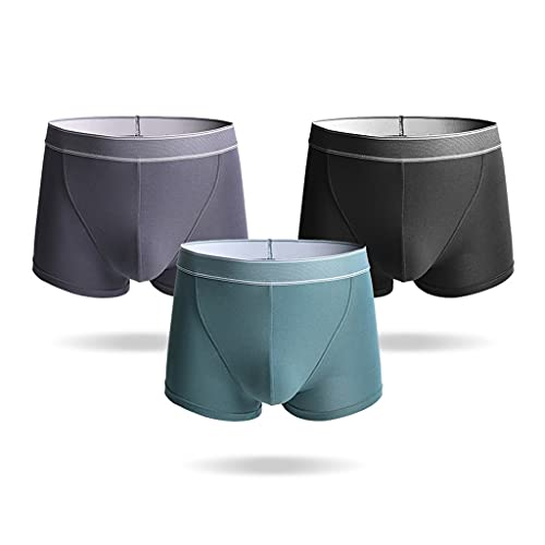 WXYPP Portátil de algodón Puro Shorts Boxer Transpirable 3 Paquete de Ropa Interior para Hombres Calzoncillos (Color : Multicolor 5, Size : 3XL)