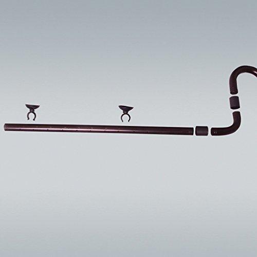 JBL OutSet Spray 60157 Wasserrücklauf-Set mit 2-teiligem Düsenstrahlrohr für Aquarien