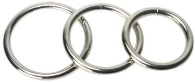 New product Trine Steel Ring Regular discount Collection