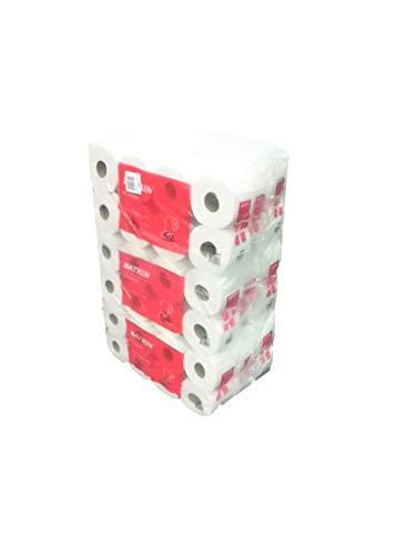 Toilettenpapier Katrin Classic Toilet 250 eco weiß, 3-lagig, perforiert, 250 Blatt, 9x8=72 Rollen im Folienbeutel #11841