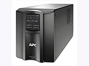 APC Smart-UPS 1500VA UPS Battery Backup with Pure Sine Wave Output (SMT1500)