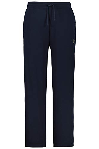 JP 1880 Herren große Größen bis 8XL, Jogginghose, Hose mit elastischem Bund und Saum, 2 Eingrifftaschen, gerade geschnitten Navy XXL 702635 70-XXL