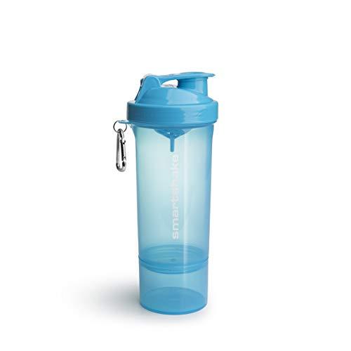 SmartShake Shaker 500 ml/18 oz Slim Bleu Néon