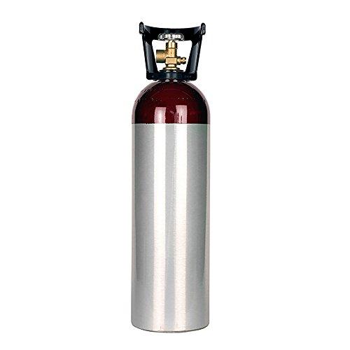 New 60 cu ft Aluminum Argon Cylinder with CGA580 Valve