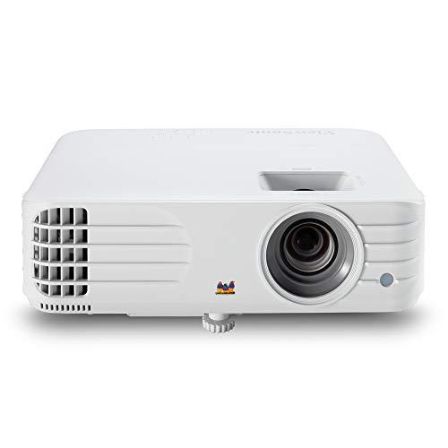 Viewsonic PG706HD Business DLP Beamer Full-HD, 4.000 ANSI Lumen, HDMI, USB, 10 Watt Lautsprecher, 1.1x optischer Zoom) weiß