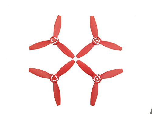 Fytoo 16PCS H/élices para Parrot Bebop 2 Power FPV RC Quadcopter repuestos H/élice de Avi/ón Modelo Rojo